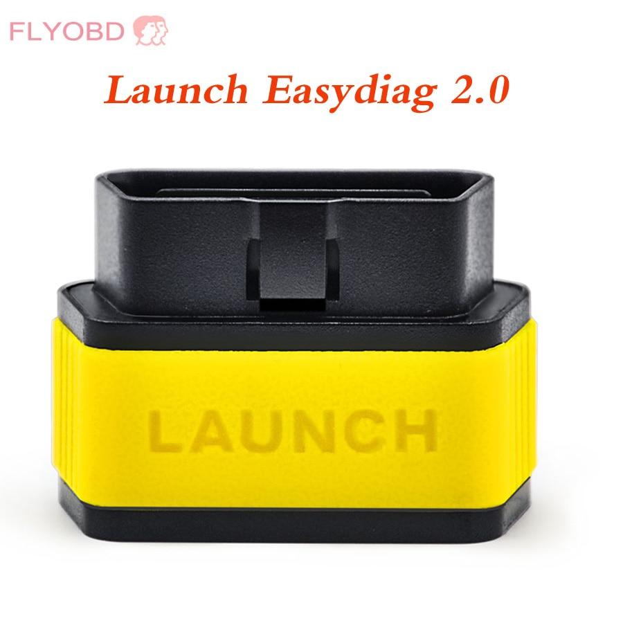 Цена за 2017 Launch X431 Легкий Diag Оригинальный Диагностический Инструмент Easydiag для Android 2.0/iOS Сканер Обновление онлайн Бесплатная доставка