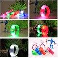 50pcs/lot led voice control bracelets Luminous wristband night light kids toys,glow in the dark party decoration supplies
