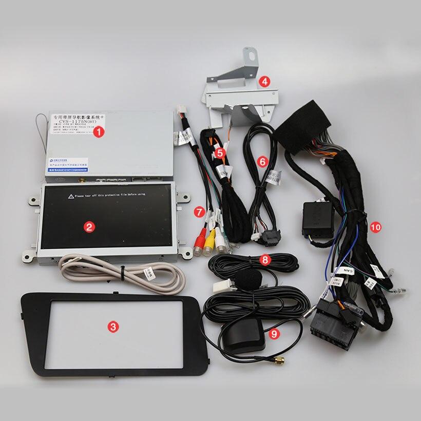 Upgrade the car original screen for Audi Q5 Car GPS Navigation Bluetooth MP5 Smartphone Mirror ...