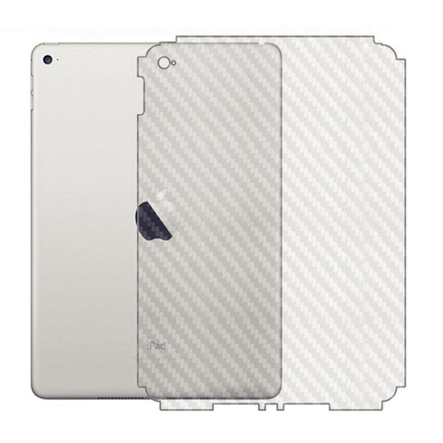 3D Carbon Fiber Film For iPad Pro 10.5 Back Screen Protector For iPad 9.7 2018 2