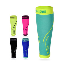 Aonijie Outdoor Running Basketball Sports Safety Leggings Compression Calf Sleeve Longer Crash Legwarmers