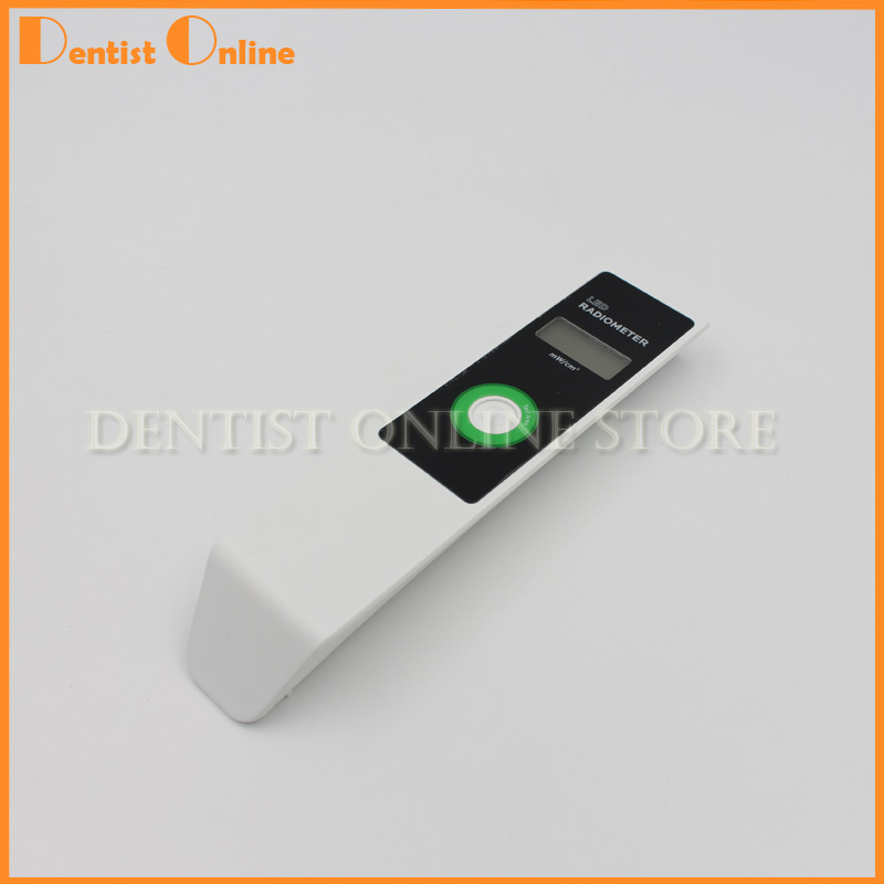 Dental Curing Light Meter Visible LED Radiometer Curing Intensity Battery with LCD Screen dental led curing light whitening tip curing light cordless 12x15mm 10x15mm
