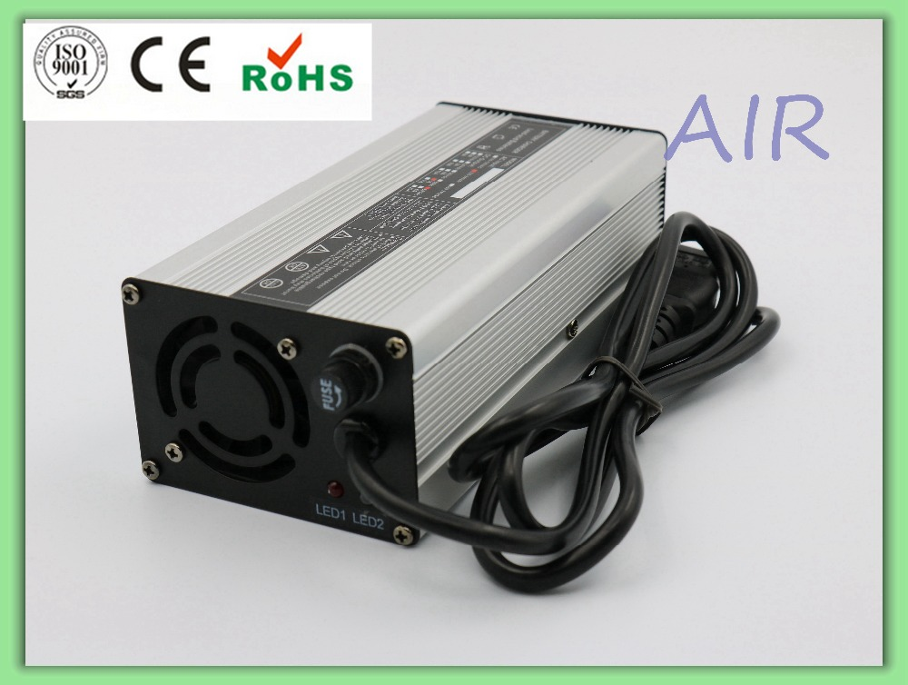 180W 42V 4A electric vehicle lithium battery aluminum shell charger for 10S Li-ion/Lipo Batteries 16 8v 21a li ion battery charger for electric vehicle electic forklift electric golf cart aluminum shell with fan