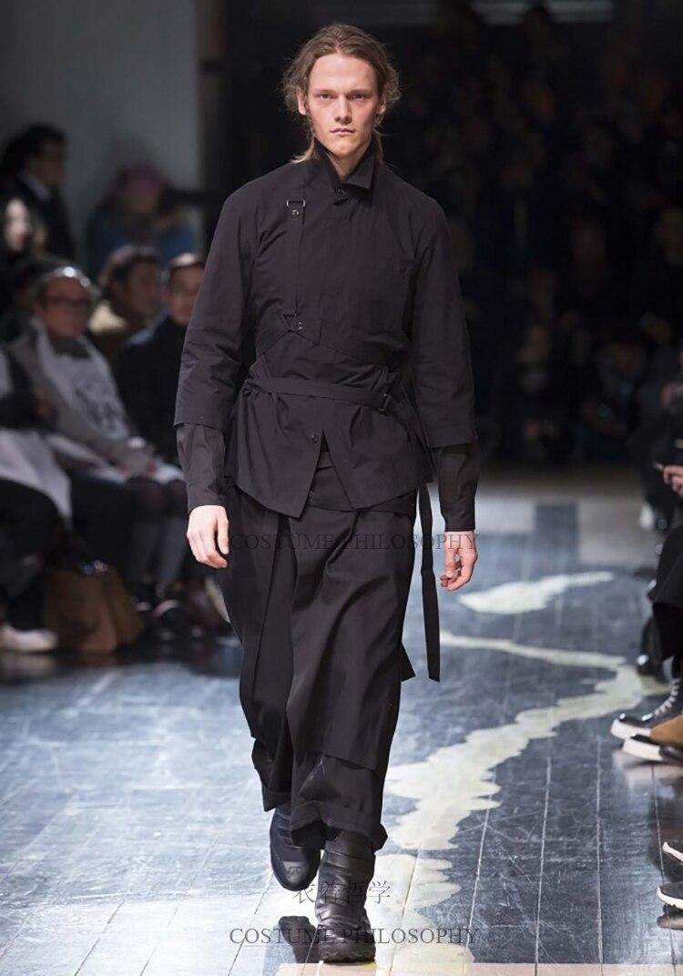 Costumes Clothing Leg-Pants GD Men's Casual Fashion Plus-Size Wide 27-44 Hair-Stylist