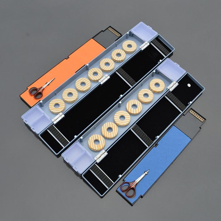 45cm 50 cm daudzfunkcionāla makšķerēšanas līnija līkumainās plāksnes dreifēšanas flīžu kaste ar šķērveida dubultu slāni