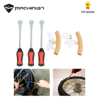 Tire Change Removing Tool Set 3 Tire Lever Tool Spoon + 2 Wheel Rim Protectors Tool Kit For Motorcycle Bike Car
