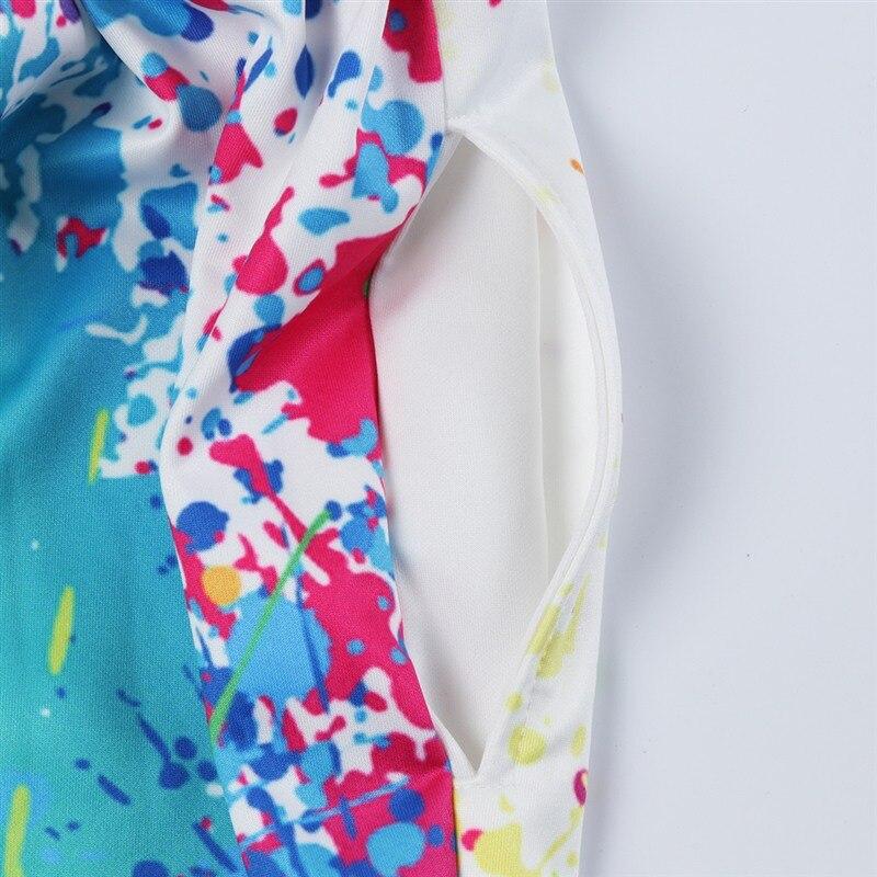 Raisevern Mode Hosen 3d Drucken Lustige Farbe Malerei Jogger Taschen Pluderhosen Voller Länge Hosen Für Männer Frauen Dropship