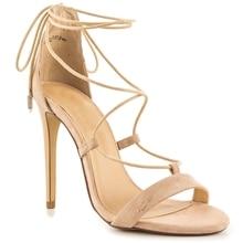 Khaki Cross Strap Sandal Women Heel Sandals Summer Stilettos High Heels Open Toe Heels Size 4-15 Custom Colors Fringe Heels