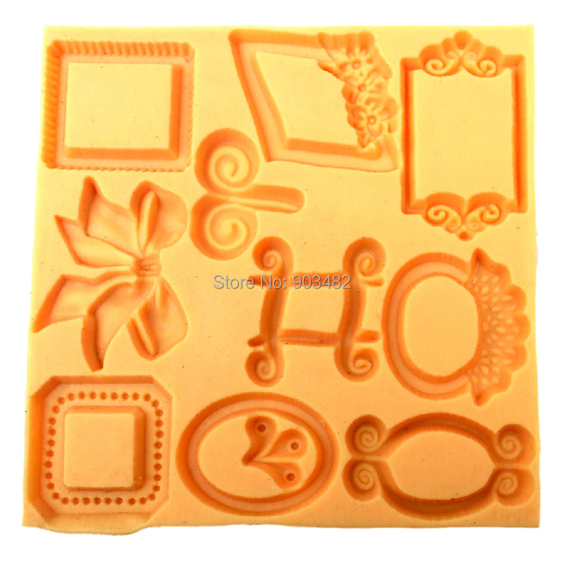 ee0720ad6 ᗑ F064 Bowknot Silicone Fondant Mold Gum Paste Cake Decorating ...