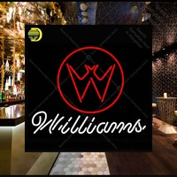 Willia Neon Sign neon lamp GLASS Tube BEER BAR PUB Store Display Handcraft Iconic Sign personalized cool neon signs car LOGO