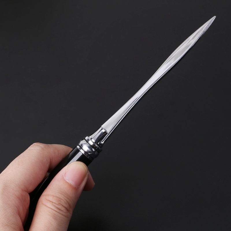 Stainless Steel Letter Opener Metal Handle Envelopes Cutting Knife Divided File in Letter Opener from Office School Supplies