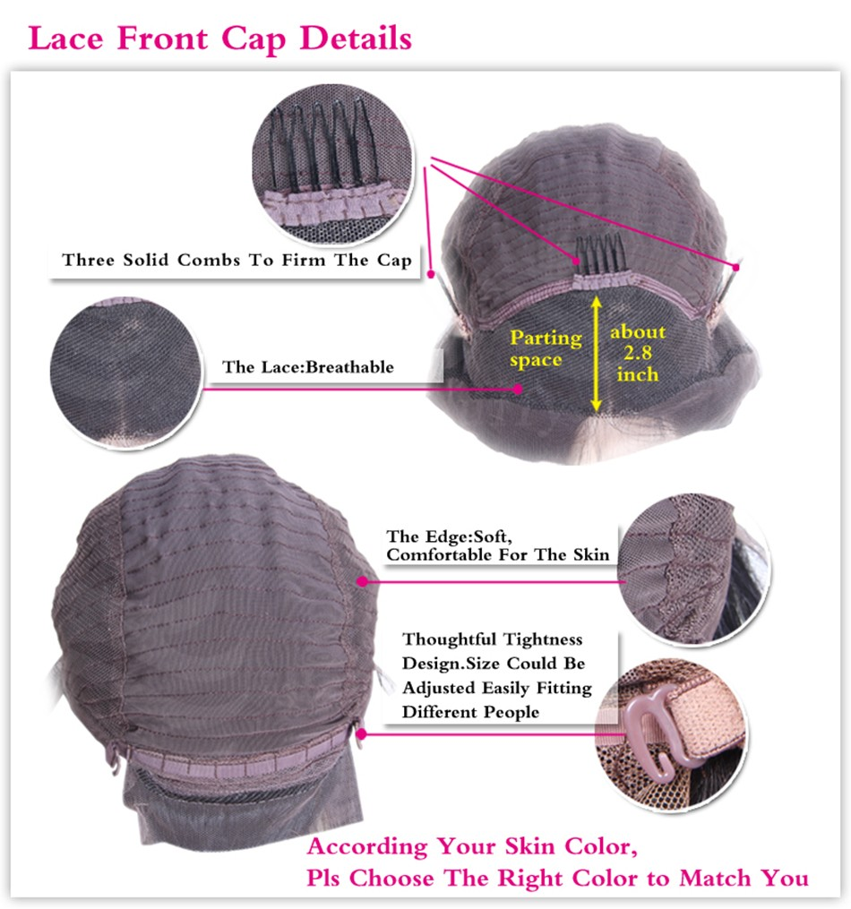 normal lace front wig cap