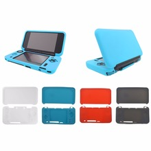 Soft Silicone Rubber Protective Skin Case Cover For New 2DS XL Console For Nintend 2DS LL