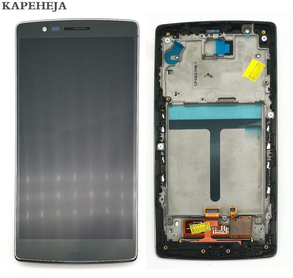 5.5 For LG G Flex 2 H955 LS996 US995 H950 LCD Display Touch Screen Digitizer Assembly with Bezel Frame