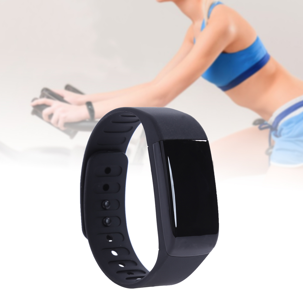 Sport Smart Wristband 0 66inch OLED Screen Waterproof Bluetooth 4 0 Heart Rate Sleep Monitor Multifunction