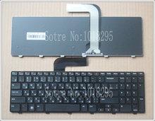 Русская Клавиатура для Dell 15R N5110 M5110 N 5110 m511r m501z 0NKR2C NKR2C NSK-DY0SW 0R MP-10K73SU-442 V119625AS1 Черный