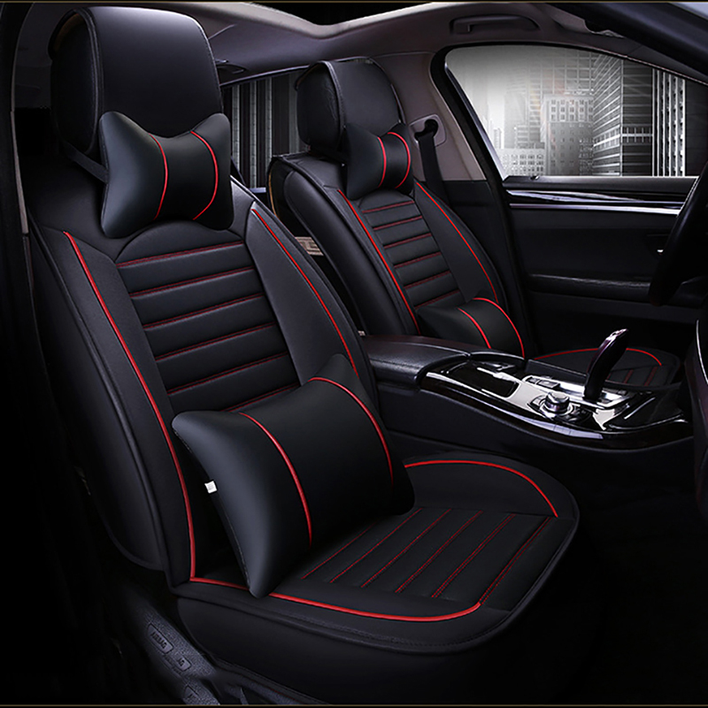 HeXinYan Leather Universal Car Seat Covers for Opel all models Astra g h Antara Vectra b c zafira a b auto accessories styling 1