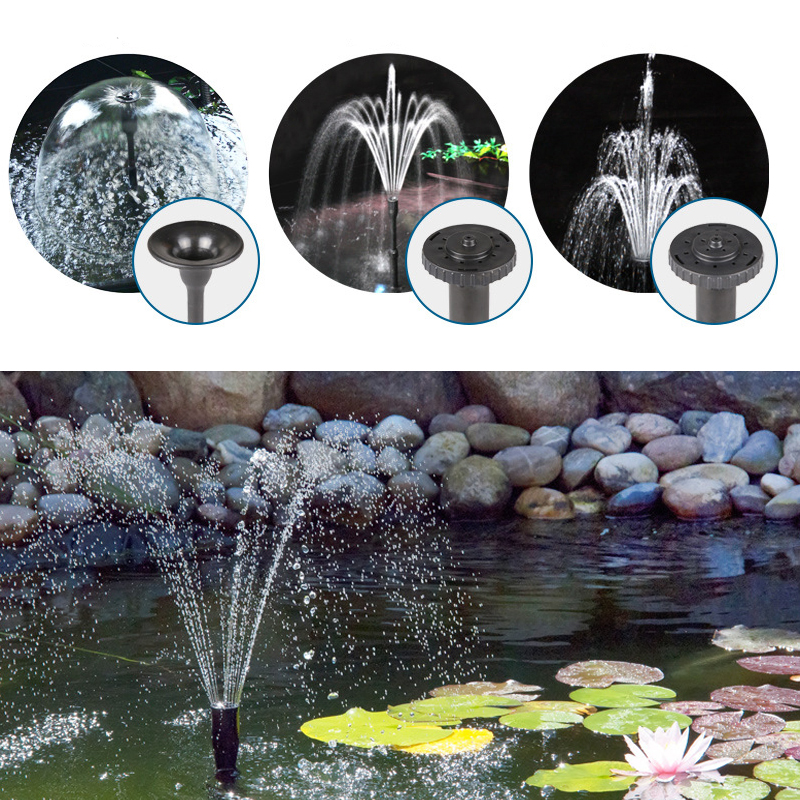 Image 5 - 8/14/24/55/85W High Power Fountain Water Pump fountain Maker Pond Pool Garden Aquarium Fish Tank Circulate & Multi Performance-in Fountains & Bird Baths from Home & Garden