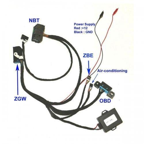 Ignition Emulator to ZGW For BMW F01 F02 F10 F18 F25 Fxx NBT CAS4 Ignition ON