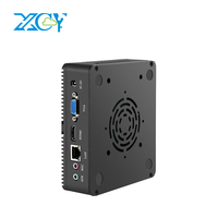 XCY Mini PC Intel Celeron 3965U 4K UHD Windows 10 Linux HD Graphics 610 Barebone HTPC HDMI VGA WIFI Gigabit Ethernet 6xUSB