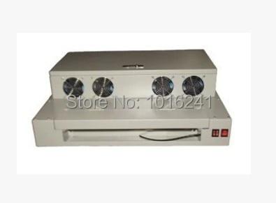 Настолна машина с UV покритие с покритие с UV лак Ламинираща машина 330 мм за банери с фото флаери