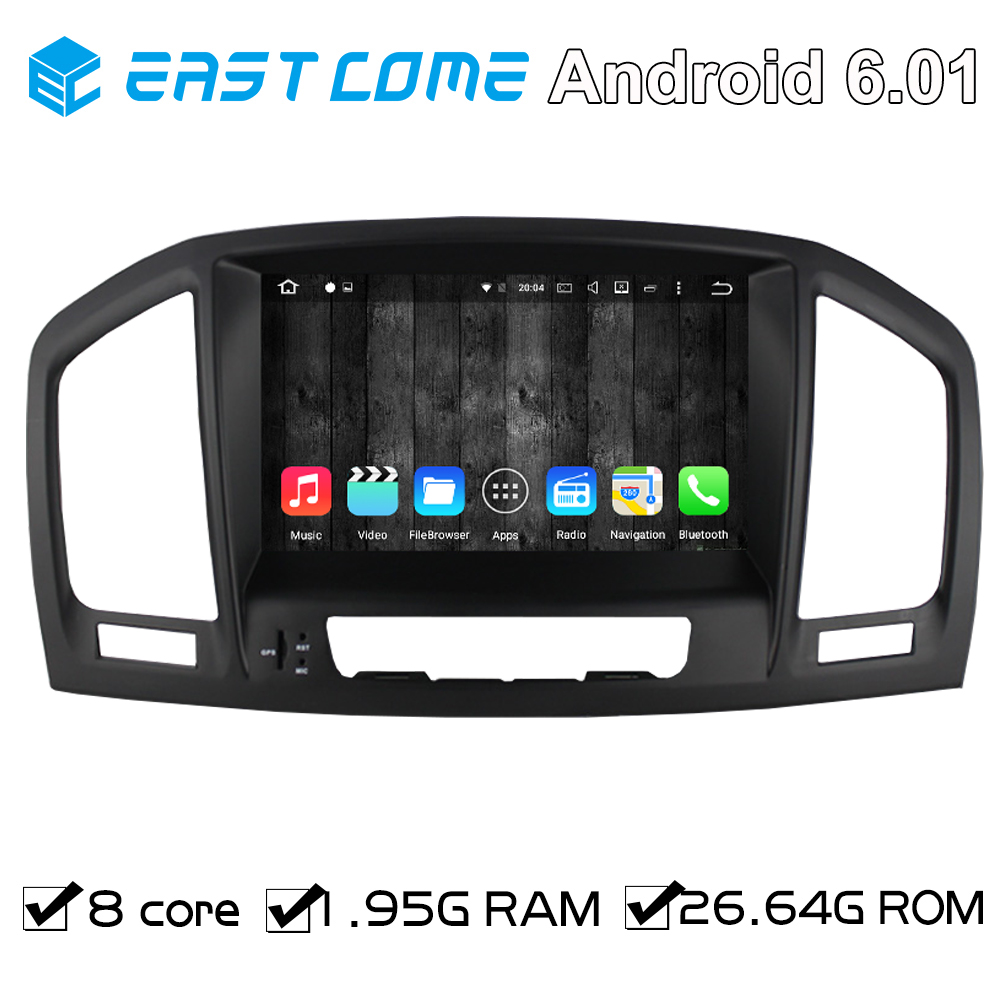 For Opel Vauxhall Insignia 2008 2009 2010 2011 2012 2013 Octa Core Car DVD Player Android 6.01 With 8 Core CPU WiFi 1024*600
