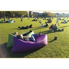 Lazy Bag Laybag Lay Bag Sleeping Fast Inflatable Camping Air Sofa Sleeping Home Beach Bed Banana Lounge Bag Air Bed Lounger