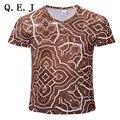 2017 дэдпул Новые galaxy пространство отпечатано творческий майка 3d мужская футболка лето новинка 3D feminina психоделический футболки