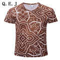 2017 deadpool Newest galaxy space printed creative t shirt 3d men's t-shirt summer novelty 3D feminina psychedelic tee shirts