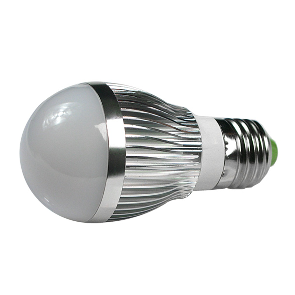 4pcs E27 3W LED Globe Ball Light Bulbs Day White Super Deal! Inventory Clearance image