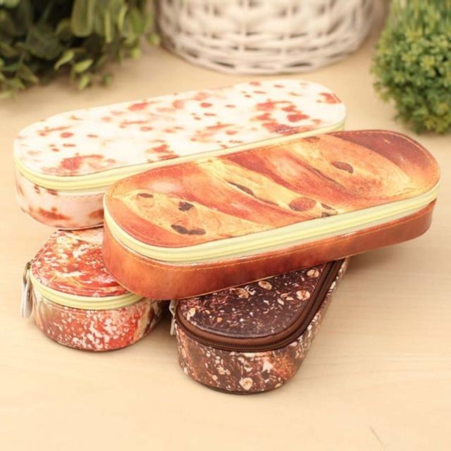 JOUDOO Новинка моделирование хлеб пенал Корея Kawaii Pen Сумка творческий большой Ёмкость школьные принадлежности для детей