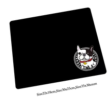 cut dog black mouse pad High-end pad to mouse 350x300x2mm notbook computer mousepad gaming padmouse gamer to laptop mouse mats