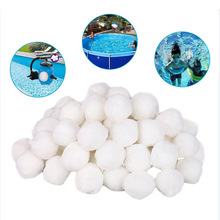 200g 500g 700g Swimming pool Cleaning Equipment Filter Media Net Bag Sand Fiber Ball Water Purification Balls zwemb