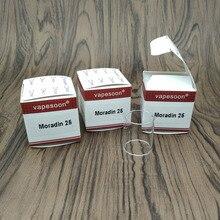 VapeSoon Replacement Glass Tube For  CloudCig Moradin 25 RTA Atomizer 1pcs 3pcs 5pcs