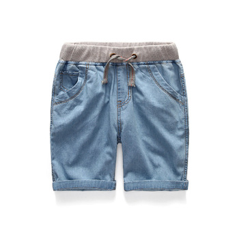 Boys Summer Jeans Shorts Children Cowboy Shorts  Cotton Short Pants 2018 Casual Baby Boys Trousers 3-12 Years Kids Clothes 1