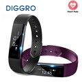 Id115 pulseira inteligente rastreador de fitness passo contador de fitness banda despertador vibração pulseira para iphone android pk i6 pro