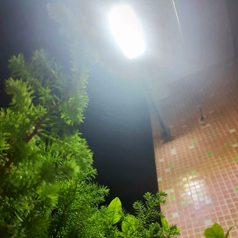 Super Bright Solar Panel LED Wall Street Lights Outdoor Garden Waterproof Light Body Sen ...