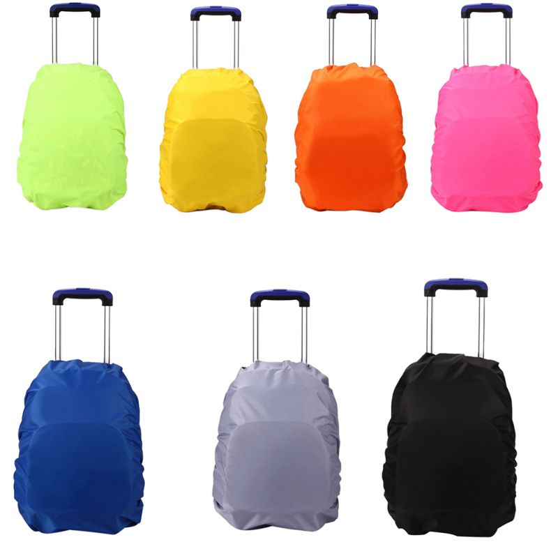 Sports & Entertainment 2019 Fashion Backpack Raincover 35l Strong Waterproof Pvc Raincover For Hiking Cycling Camping Luggage Bag Travel Kits Suit