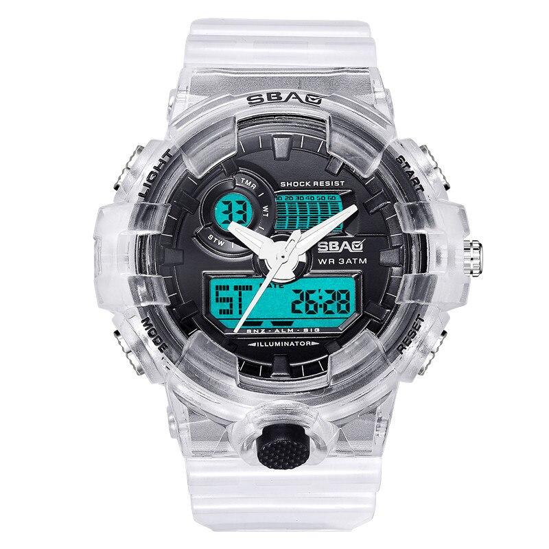 reloj mujer Fashion Luminous Electronic Alarm Clock Big Sport Watch Women Digital Watch Women Student Watch zegarek pandora amp A in Women 39 s Watches from Watches