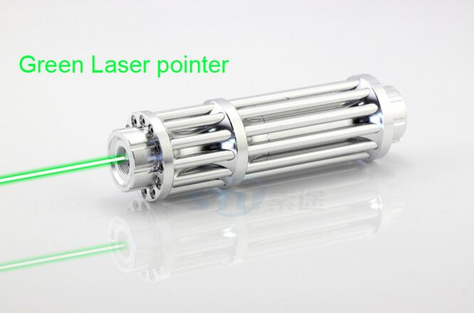 High Power Laser Pointer Pen Green 100000m 532nm Military Zoomable Beam focus Burning matches with 5 caps free shipping