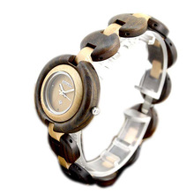 BEWELL 2017  Black Wood Fashion Brand Woman Watches for Girls Quartz Wrist Watch New Year Gift Casual Wtach With Box 010A