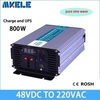 MKP800 482 C dc 48v to ac 24v 800w inverter Pure Sine Wave off grid voltage converter with charger