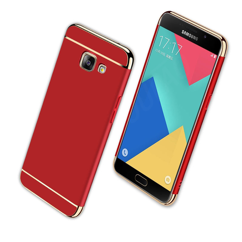 Electroplate Samsung Galaxy S7 Edge A3 A5  A7  Full Cover For Samsung J7 J5 2015 S7 Protective Case