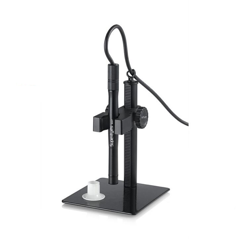 2MP 500X Zoom Supereyes Digital Microscope Mini USB Video Magnifier Support OTG Android Phone with Adjustable Stand and LED  handheld b008 supereyes pen shape 5mp digital microscope camera 500x zoom usb image video capture metal body with stand mount