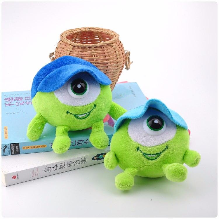 1piece 10cm Monsters University Sully Mini Plush Figure Model Toys Dolls 2 Colors Random