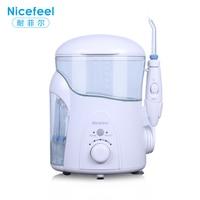 Nicefeel Dental Floss Oral Irrigator Jet Water Flosser Teeth Cleaner 600ML Care Oral Hygiene Irrigador Dental