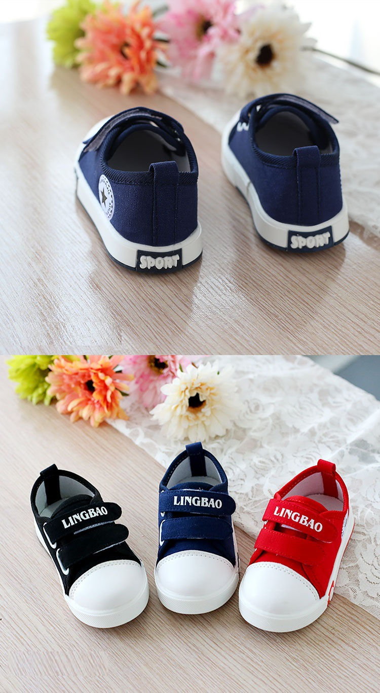 Kids Casual Shoes Autumn Fashion Stars Children Sneakers for Baby boys girls Canvas shoes 17 New Spring size 21~30 4