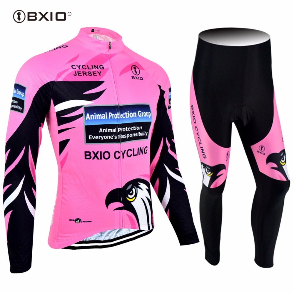 2017 New Arrival Bxio Bicycle Clothing Pro Tour Racing Women Cycling Jersey Autumn Long Sleeve Uniformes