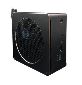 Image 3 - 2019 أحدث S200 Nuc إنتل i7 8750H 6 Core 12 المواضيع كمبيوتر مصغر ويندوز 10 برو DDR4 i5 8300H التيار المتناوب واي فاي كمبيوتر مكتبي HDMI Mini DP