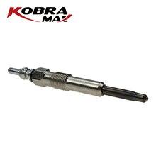 KOBRAMAX 1 шт. металлический Автомобильный Автоматический дизельный Обогреватель свечи зажигания дизельные заглушки система зажигания 8200490950 для Qashqai LOGAN SANDERO